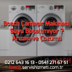 Bosch Çamaşır Makinasi Suyu Boşaltmıyor